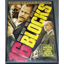 Dvd 16 Blocks Bruce Willis David Morse