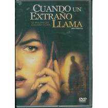 Cuando Un Extraño Llama. La Maldad Ha Llegado A Casa. Dvd
