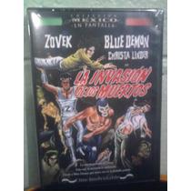 Dvd Invasión De Los Muertos Zovek Blue Demon Lucha El Santo