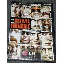 Dvd Royal Rumble 2011 W W E The Miz Vs Randy Orton