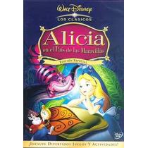 Alicia En El Pais De Las Maravillas Clasico Disney Dvd
