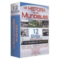 La Historia De Los Mundiales Paquete De 12 Dvd´s