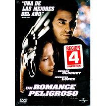 Dvd Un Romance Peligroso (out Of Sight) 1998 - Steven Soderb