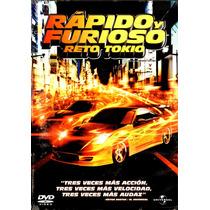 Dvd Rapido Y Furioso: Reto Tokio (2006) - Justin Lin