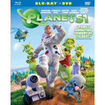 Planet 51 Blu Ray+ Dvd Nuevo Excelente Estado