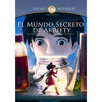 El Mundo Secreto De Arriety - Estudio Ghibli Dvd Nuevo