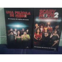 Lote Vhs Scary Movie 1 Y 2 Una Película De Miedo