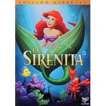 La Sirenita En Disney Dvd Super Precio