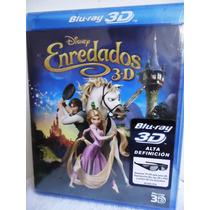 Enredados Disney Bluray 3d (nuevo) Gratis Regalo Rapunzel