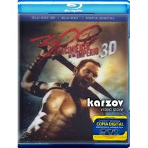 300 El Nacimiento De Un Imperio Pelicula Blu-ray 3d + Br + D