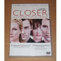 Closer Llevados Por El Deseo Dvd Drama Closer Dvd