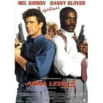 Dvd Arma Mortal Letal Lethal Weapon 3 Mel Gibson Danny Glove