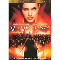 V De Venganza Version Widescreen Dvd Excelente Seminuevo