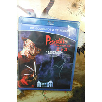 A Nightmare On Elm Street 2 & 3 Blu Ray Movie Freddy Horror