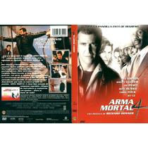 Dvd Arma Mortal Letal Lethal Weapon 4 Mel Gibson Danny Glove