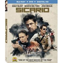 Sicario - Bluray + Dvd Importado Usa Nominada Oscar
