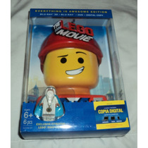 The Lego Movie 3d - Bluray 3d + 2d + Dvd Limited Edition Hm4