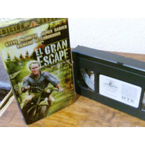 El Gran Escape Con Steve Mc Queen-vhs