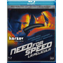 Need For Speed , La Pelicula Blu-ray 3d + Blu-ray Discos