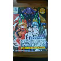 Evangelion Dvd Serie Completa, Películas Colección Japonés