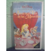 Vhs Película Alicia En El Pais De Las Maravillas Walt Disney