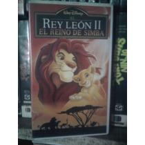 Vhs Película Rey León 2 Anime Manga Caricatura Walt Disney