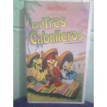 Vhs Película Los 3 Caballeros 1a. Edición Anime Walt Disney
