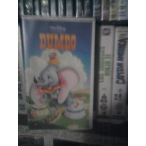 Vhs Película Dumbo Anime Manga Caricatura Walt Disney