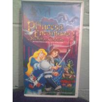 Vhs La Princesa Encantada 2 Manga Walt Disney Dreamworks