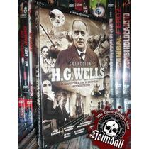 Pack H.g Wells 3 Dvd 7 Films La Maquina Del Tiempo Melies