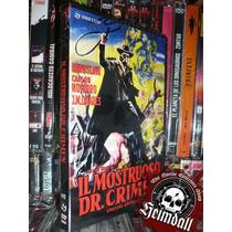 Dvd El Monstruo Resucitado Terror Mexicano Dvd + Poster Euro