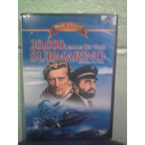 Dvd Película 20 Mil Leguas De Viaje Submarino Walt Disney