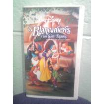 Vhs Blanca Nieves Y Los 7 Enanos 1a. Edición Walt Disney