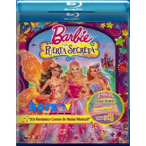 Barbie Y La Puerta Secreta . Pelicula Disney Disco Blu-ray