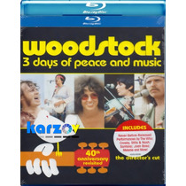 Woodstock 3 Days Of Pace And Music , Pelicula Cut En Bluray