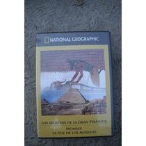 Dvd Los Secretos De La Gran Piramide Y Momias Nat Geo