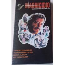 Magnicidio Pri Colosio Testimonio Historico Maussan 1995 Vhs