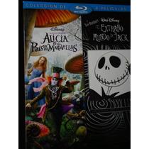 Alicia Pais De Maravillas/ Extraño Mundo De Jack Bluray+ Dvd