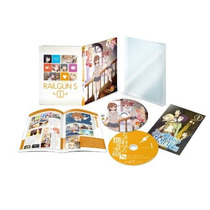 A Certain Scientific Railgun Limitada Blu-ray Vol1 Japonesa