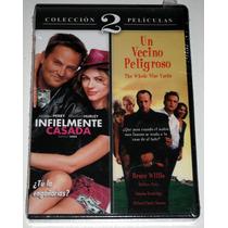 Pack Dvd Un Vecino Peligroso (1999) Infielmente Casada (2002