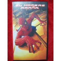 Peliculas Vhs, El Hombre Araña, Marvel, Original, Nueva