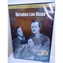 Pelicula Dvd Ustedes Los Ricos Pedro Infante