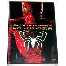 El Hombre Araña Spider-man Trilogia Boxset Pelicula Dvd