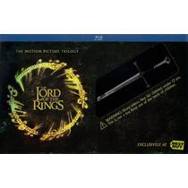 El Señor De Los Anillos Trilogía En Blu-ray Espada Anduril