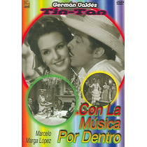 Dvd German Valdez Tin Tan Con La Musica Por Dentro Tampico