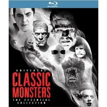 Universal Classic Monsters Coleccion Peliculas Disco Blu-ray