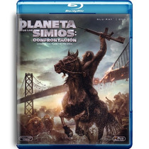 El Planeta De Los Simios : Confrontacion , Bluray + Dvd
