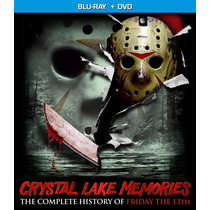 Crystal Lake Memories Coleccion Completa Blu-ray + Dvd Combo