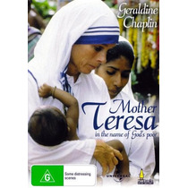 Dvd Madre Teresa De Calcuta Mother In The Name Of Gods Poors