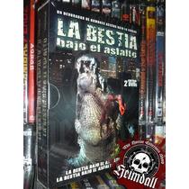 Dvd Boxset Alligator 1 Y 2 Terror Bajo La Tierra Esp Gore R2